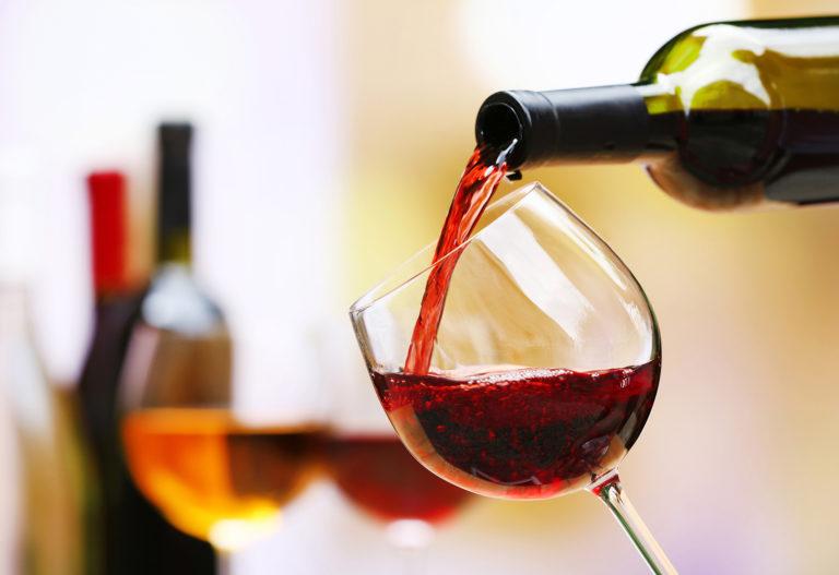 wijn en sterke dranken
