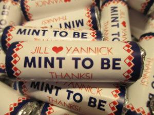 huwelijksbedankjes Mint to Be